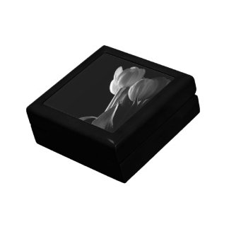 Black & White Tulips Gift Box
