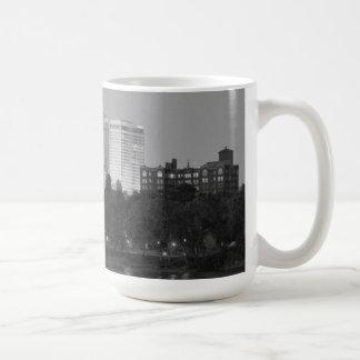 Black & White Tulsa Skyline Mug