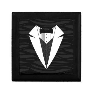 Black/White Tuxedo Gift Box