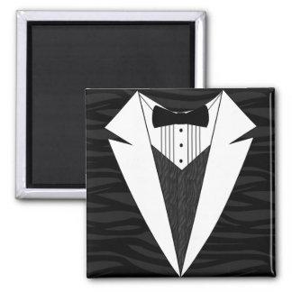 Black White Tuxedo Magnet