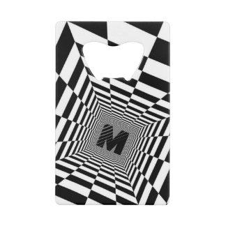 Black & White Visual Illusion, Monogram or Initia