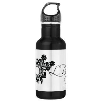 Black & White Water Kanteen 532 Ml Water Bottle