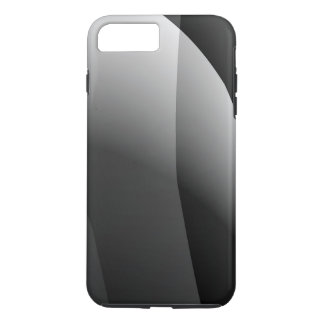 Black&White Wavy Abstract iPhone 7 Plus Case