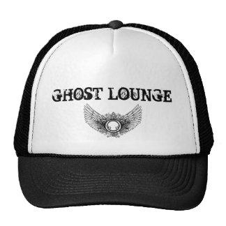 Black White Wings GHOST LOUNGE Trucker Hats