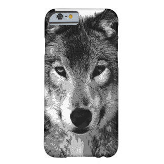 Black & White Wolf Eyes iPhone 6 Case Barely There iPhone 6 Case