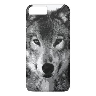 Black & White Wolf Eyes iPhone 7 Plus Case