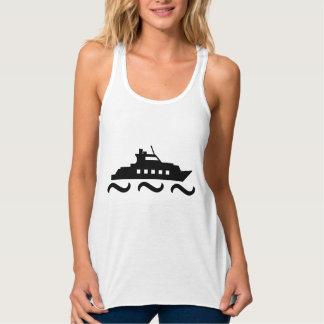 Black & White Yacht Tank Top