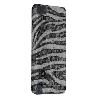 Black&White Zebra Abstract iPod Touch (5th Generation) Covers