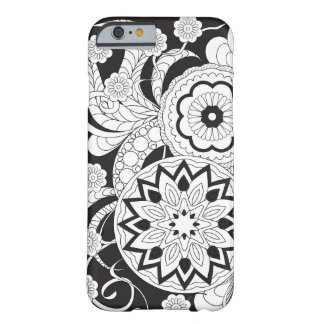 Black&white zen pattern with sends them and barely there iPhone 6 case