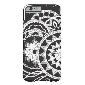 Black&white zen pattern with sends them barely there iPhone 6 case
