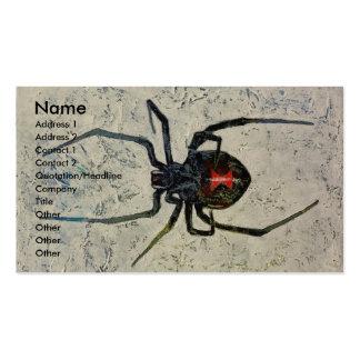 Black Widow Business Cards