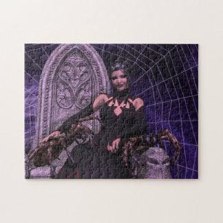 Black Widow Jigsaw Puzzle