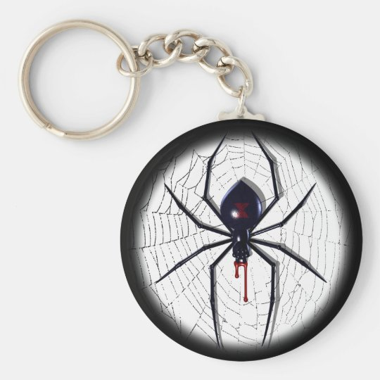 Black Widow Key Ring
