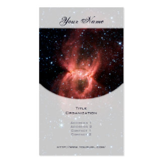 Black Widow Nebula Double-Sided Standard Business Cards (Pack Of 100)