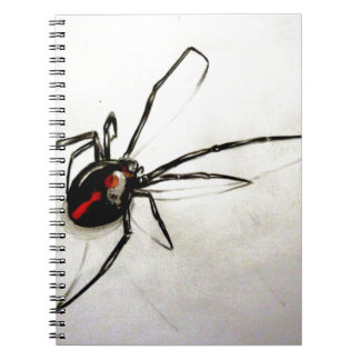 Black widow note book