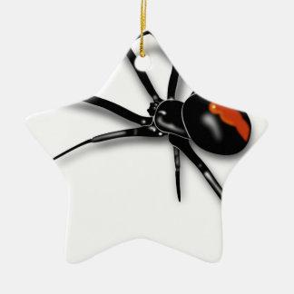 Black Widow Spider Christmas Ornament