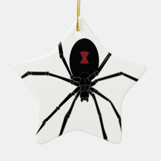 Black Widow Spider Hanging Christmas Ornament