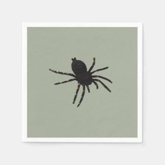 Black Widow Spider Paper Napkin