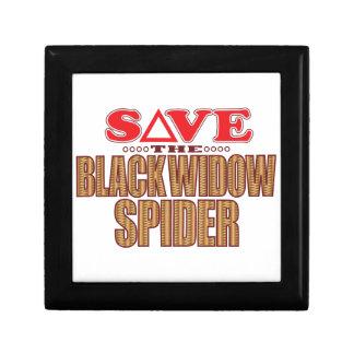 Black Widow Spider Save Gift Box