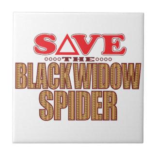 Black Widow Spider Save Tile