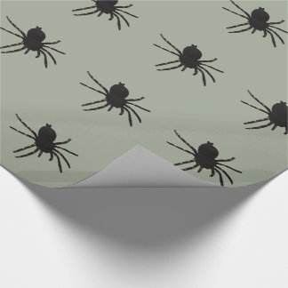 Black Widow Spider Wrapping Paper