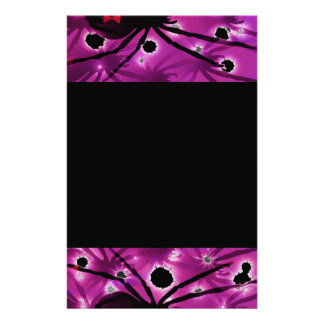 Black Widowed Set Stationery Paper