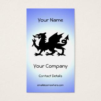 Black Winged Wales Dragon Against Blue Sky Sun