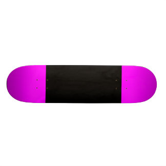 Black with Fuchsia Tips Skate Boards