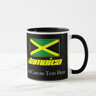 Black with Jamaica Flag Mug