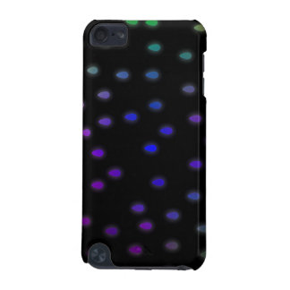Black with rainbow color rain drops. iPod touch 5G case