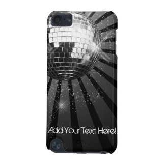 Black with Silver Disco Ball Custom iPod Touch iPod Touch 5G Case