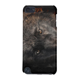 Black Wolf Eyes Wildlife-supporter  iPod Touch (5th Generation) Case