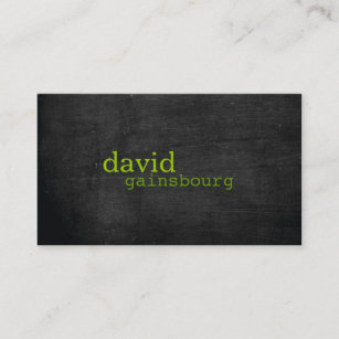 Green wood business cards business card printing zazzle uk black wood green typography business card reheart Images
