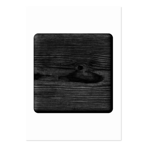 Black Wood Image. Business Card Template