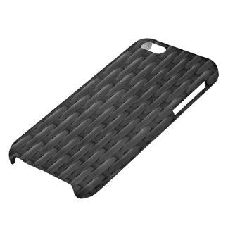 Black Woven I phone case iPhone 5C Cases