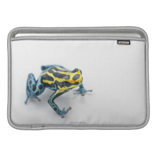 Black, Yellow and Blue Poison Dart Frog MacBook Sleeve