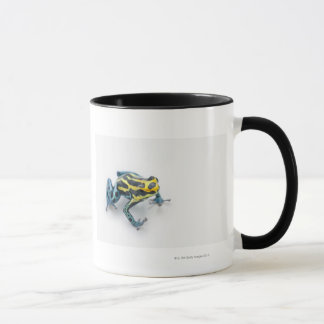 Black, Yellow and Blue Poison Dart Frog Mug