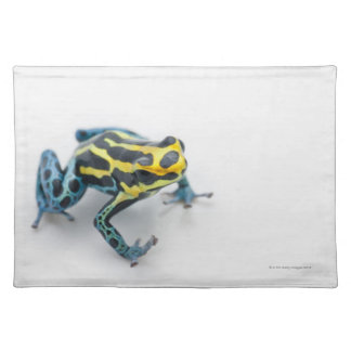 Black, Yellow and Blue Poison Dart Frog Placemat