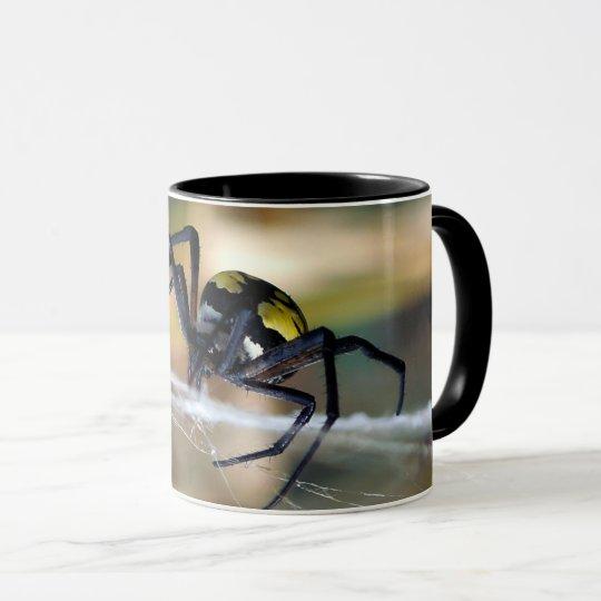 Black & Yellow Argiope Garden Spider Coffee Mug