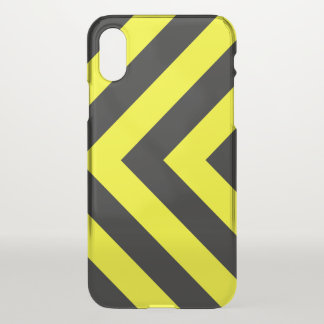 Black & Yellow Chevron-Like Pattern Phone Case