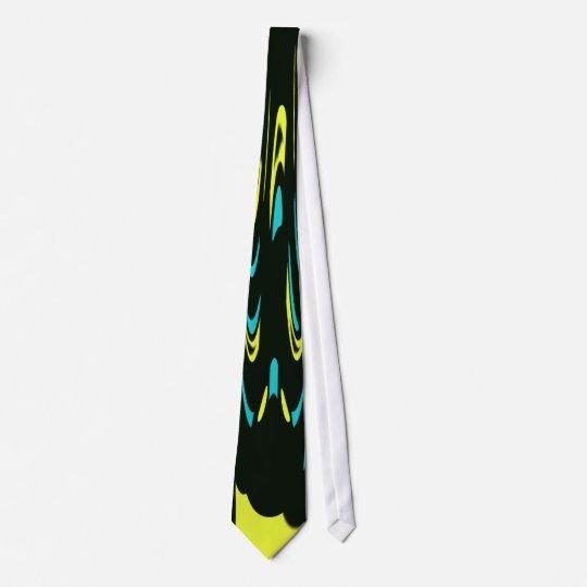 Black & Yellow Deco Tie