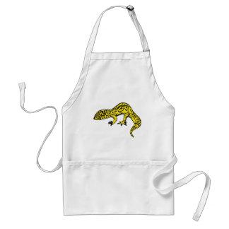 Black & Yellow Gecko Standard Apron
