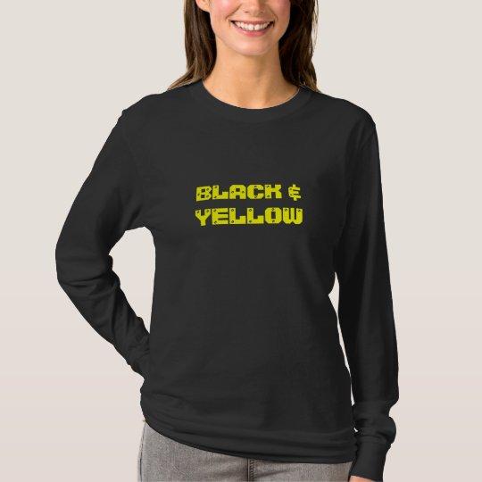 """BLACK & YELLOW"" Hoodies"