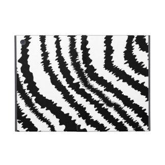 Black Zebra Print Pattern Covers For iPad Mini