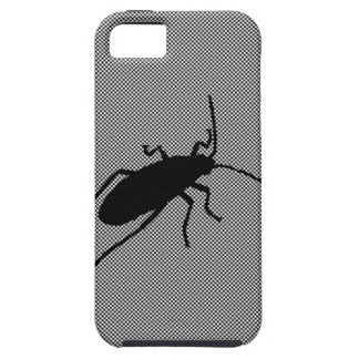 Black ZigZag Bug iPhone 5 Covers