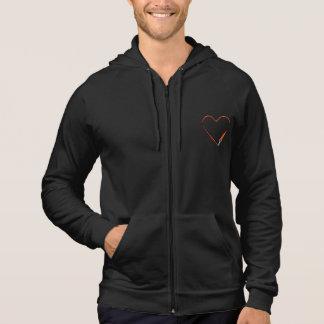 Black Zip Hoodie with InstaDogWalk logo