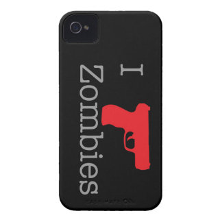 Black Zombie Berry iPhone 4 Case-Mate Case