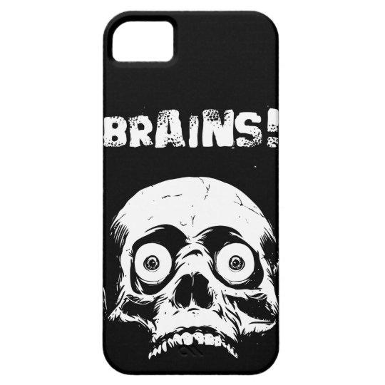 Black Zombie Brains iPhone 5 Case Romero Style