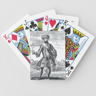 Blackbeard the Pirate, from 'A General History of Bicycle Playing Cards