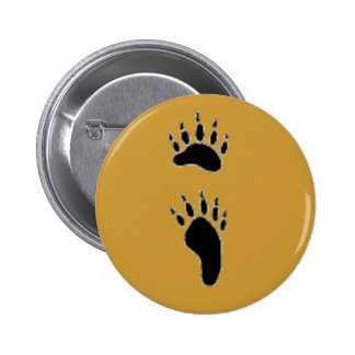blackbearprint 6 cm round badge